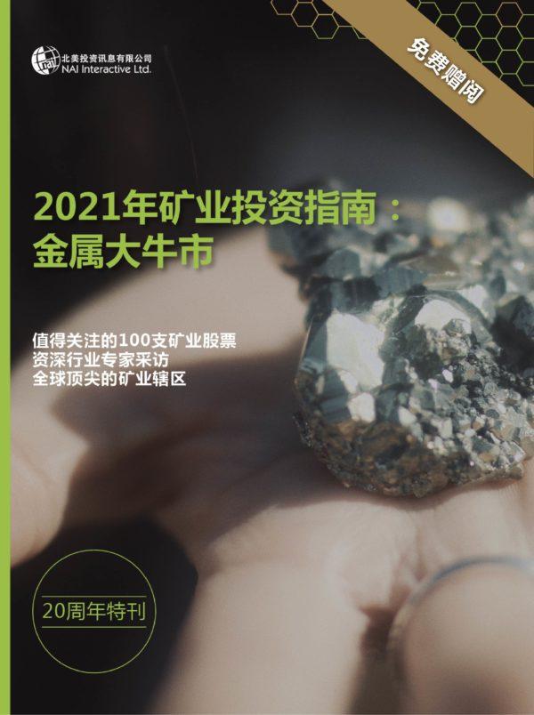 2021年矿业投资指南:金属大牛市 - 简体中文 (电子书)
